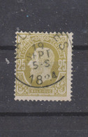 COB 32 Centraal Gestempeld Oblitération Centrale NALINNES - 1869-1883 Leopold II