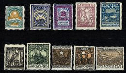 ARMENIE 1922 Yv 134/43 / MH / MNH (2 Scans) - Armenia
