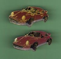 PORSCHE *** VIOLETTE *** Lot De 2 Pin's Differents *** 5049 - Porsche