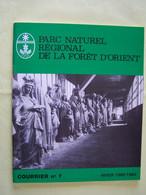 DEPARTEMENT DE L'AUBE. PARC NATUREL REGIONAL DE LA FORET D'ORIENT. LE FLOTTAGE DU BOIS SUR LA RIVIERE D'AUBE. - Champagne - Ardenne