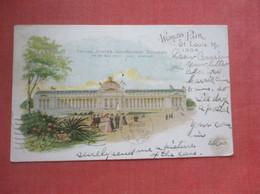 Worlds Fair St Louis Mo 1904 Government Building       Ref  4971 - Ausstellungen