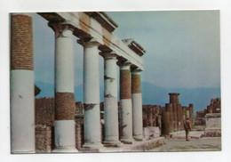 Pompei (Napoli) - Il Foro - 3D - Cartolina Stereoscopica - Non Viaggiata - (FDC30483) - Cartoline Stereoscopiche