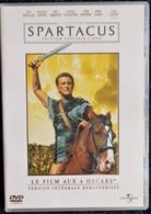 SPARTACUS - Version Intégrale Remastérisée ( 2 DVD )  - Kirk Douglas - Laurence Olivier - Peter Ustinov - Tony Curtis . - Action, Adventure