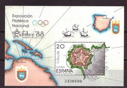 Spanje / Spain / Espana Block 32 MNH ** (1988) - 1981-90 Neufs