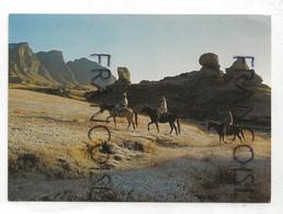Lesotho. Riders At Sehlabathebe. National Park. Cavaliers - Lesotho