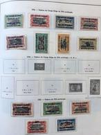 1916 Timbres Du Congo Belge De 1916 Surchargés + 1922 Timbres De 1916 Surchargés (OCCUPATION BELGE) - 1916-22: Mint/hinged