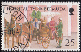 Bermuda 1998 Used Sc #758 25c Carriage Ride - Bermudas