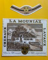 19613 - La Mouniaz 1981 Chenaux Lavaux Pierre Monnier - Altri