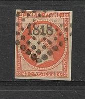 FRANCE  N° 16    OBLITERE - 1853-1860 Napoléon III