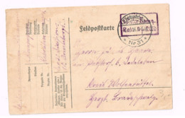 Feldpostkarte.Expédié De Poststation 31 à Wolfunbuttal. - Lettres & Documents