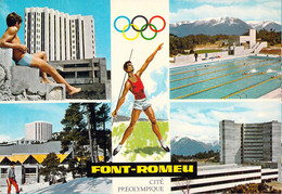 France Postcard Font Romeu Cite Preolympique - Used 1968 (G132-47) - Other Municipalities