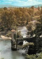64 - Sauveterre De Béarn - Vue Générale Sur L'Ile De La Glere Et Le Pont De La Légende Sur Le Gave D'Oloron - Carte Neuv - Sauveterre De Bearn
