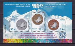 RUSSIA 2014 #1797-1799 - II. Overprint. XXII Olympic Winter Games 2014 In Sochi. MNH - Unused Stamps