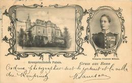 ALLEMAGNE  BONN Gruss Aus Kronprinzliches Palais - Bonn