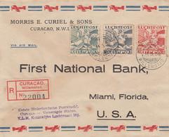 Curacao First Flight Luchtpost Brief 1938 - Curazao, Antillas Holandesas, Aruba