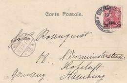Deutsches Reich Turkei Postkarte 1905 Constantinopel - Ufficio: Turchia