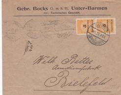 Deustches Reich Brief INFLA 1920-23 - Infla