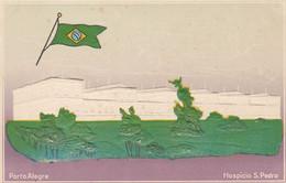 Brazil Postcard Porto Alegre Hospicio S. Pedro - Porto Alegre