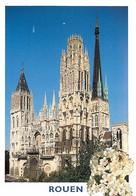 76 - Rouen - La Cathédrale Notre Dame - CPM - Voir Scans Recto-Verso - Rouen