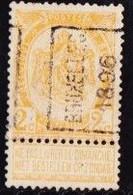 Brussel 1896  Nr.  65Azz Strookje Aangeplakt - Roller Precancels 1894-99