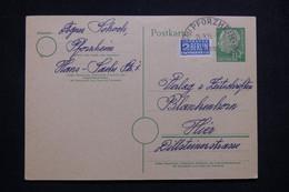 ALLEMAGNE - Entier Postal + Complément De Pforzheim Pour Hier En 1955 - L 99555 - Cartoline - Usati