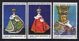 MALTA SMOM Ordre De Malte Madone 1986 Sass.257/259 MNH ** - Malte (Ordre De)