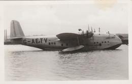 GB Postcard Aviation Imperial Airways Flying Boat Coriolanus 1939 - Unclassified