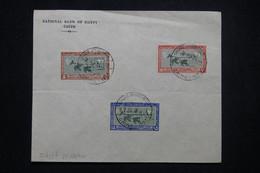 EGYPTE - Oblitération + Timbres  Du Congrès International Cotonnier Au Caire En 1927 - L 99566 - Covers & Documents