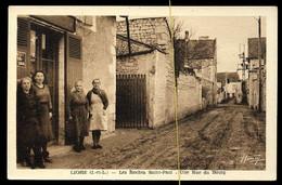 Ligré: Les Roches Saint Paul, Une Rue Du Bourg - Altri Comuni