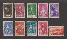 Lot N° A 4 MONACO   Neufs Xx  N° 185 A 194 Serie Prince Et Princesse  Cote 575 € - Sammlungen (im Alben)