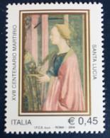 2004 - Italia - XVII  Centenario Martirio Di Santa Lucia - E. 0,45 - 2001-10:  Nuovi