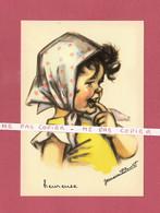CPM..Germaine BOURET :  Heureuse - Bouret, Germaine