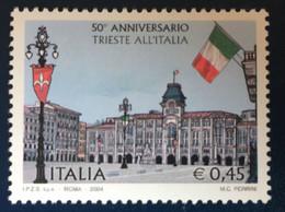 2004 - Italia - 50° Anniversario Trieste All'Italia . E. 0,45 - 2001-10:  Nuovi