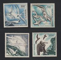 Lot N° A 6 MONACO   Neufs Xx  P.A. N° 55 A 58 Serie Des Oiseaux  Cote 575 € - Sammlungen (im Alben)