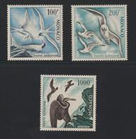 Lot N° A 7 MONACO   Neufs Xx  P.A. N° 66 A 68 Serie Des Oiseaux  Cote 650 € - Sammlungen (im Alben)