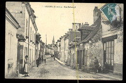 Ligueil: Rue Baltazard, (café) - Andere Gemeenten