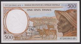 Equatorial Guinea 500 Francs 1997 P501Nd UNC - Equatorial Guinea