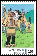 Timbre Privé** - Kuifje/Tintin - Milou/Bobbie - Haddock - Tintin In Amerika / Tintin En Amérique / Kuifje In Amerika - Altri