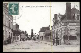 Ligueil: Avenue De La Gare - Andere Gemeenten