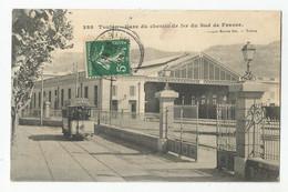 83 Var Toulon Tramway Et Gare Du Chemin De Fer Du Sud De La France - Toulon