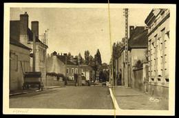 Ligueil: Avenue Léon Bion, (voiture) - Andere Gemeenten