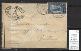 Maroc -Casablanca - 1919 - Censure Militaire Pour La Suisse - Covers & Documents