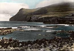 !  Ansichtskarte Färöer Inseln, Eidismol - Islas Feroe
