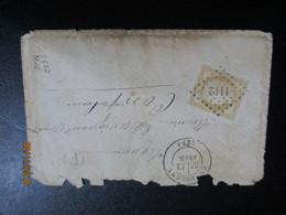 2 Lettres 1873 - 1871-1875 Ceres