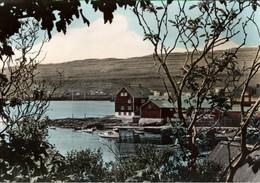 !  Ansichtskarte Färöer Inseln, Tinganes Torshavn - Islas Feroe
