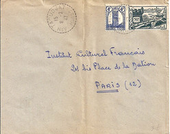 MAROC N° 217/175 SUR LETTRE DE AIN TAOUDJAT/8.2.47 POUR LA FRANCE - Storia Postale