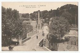 13 Environs De Marseille St Marcel Route Des Caillols Cheminée Usine - Saint Marcel, La Barasse, Saintt Menet