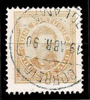 Guiné, 1886, # 24 Dent. 12 3/4, Used - Portugiesisch-Guinea