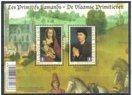Blok 185** De Vlaamse Primitieven 4085/86** Les Primitifs Flamands - Bloc 185 MNH - Bloques 1962-....