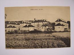 CREIL  11-4-1931  La Cité (Timbre Exposition Coloniale De PARIS 1931)  Editeur J Bourgogne - Creil